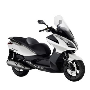 kymco dink street 125 i blanc 3 4 droite city2roues scooter kymco toulouse. Black Bedroom Furniture Sets. Home Design Ideas