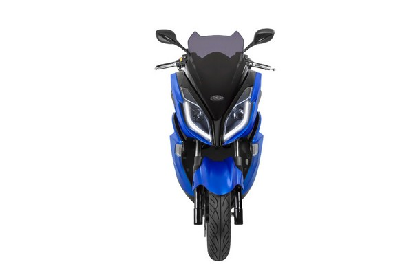 kxct125 bleu face led city2roues scooter kymco toulouse. Black Bedroom Furniture Sets. Home Design Ideas
